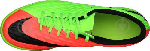 Футбольные бутсы   Nike  HYPERVENOMX PHADE 3 IC 852543-308   р. 42  зеленый - фото 5