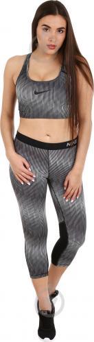 Штани Nike W NP CL Cpri Stairstep р. L чорний 865948-010 - фото 4