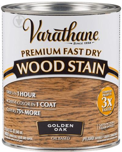 Морилка Varathane дуб золотой 0,946 л 1 кг - фото 1