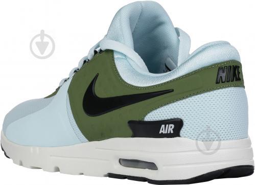 Кроссовки Nike AIR MAX ZERO 857661-400 р.8.5 голубо-зеленый - фото 16501d2c5e452