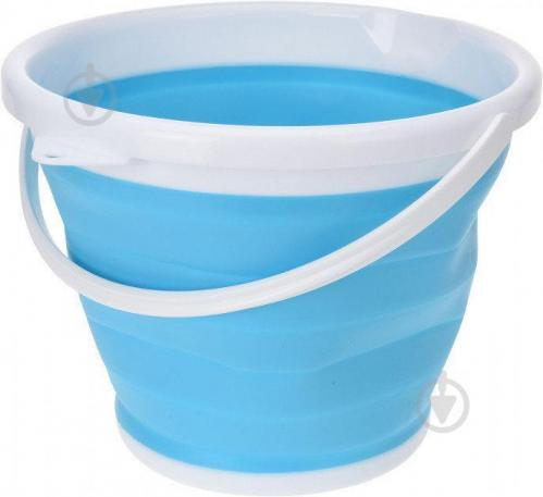 Ведро Trends Collapsible Bucket 10 литров туристическое складное (V2848) - фото 1