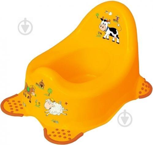 Горщик Prima Baby Funny Farm жовтий 8722.456