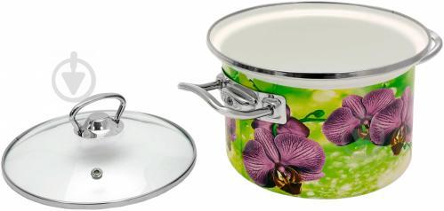 Набор кастрюль Орхидея 1500 3 шт. Idilia - фото 4