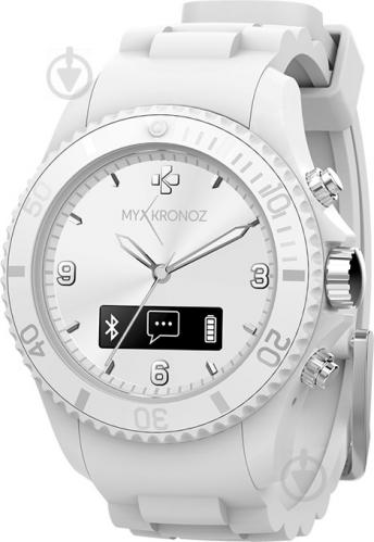 ᐉ Смарт-годинник MyKronoz ZeClock white blanc (KRZECLOCK-WHITE ... 3afe774ab0bd9