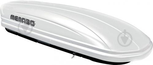 Аеродинамічний бокс MENABO MANIA 460л white