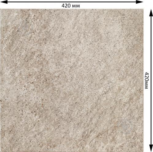 Плитка Cersanit Этерно беж G407 42x42 - фото 2
