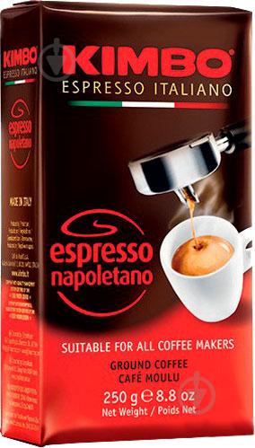 Кава мелена Kimbo Espresso Napoletano 250 г 8002200602116 - фото 1