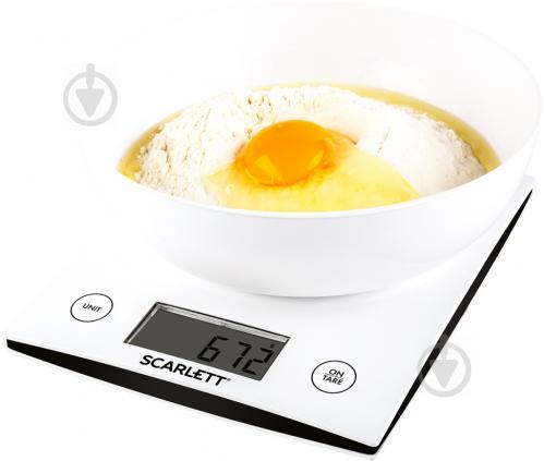 Весы кухонные Scarlett SC-KS57B10 - фото 1