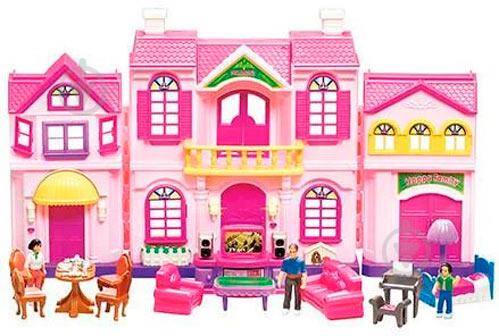 Будиночок Limo Toy з меблями 16427 - фото 1