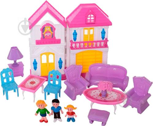 Будиночок з меблями колір в асортименті WD-926-A-B - фото 1