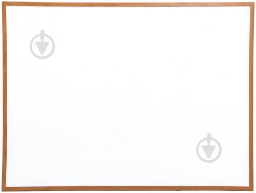 ᐉ доска магнитно маркерная Standart 90x120 см деревянная рамка