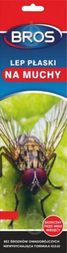 Липка стрічка від мух Bros 1 шт. - фото 1