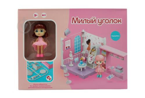 Игровой набор Funky Toys Милый уголок. Гардеробная с куклой FT3106 - фото 1