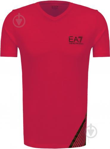 Футболка EA7 6YPT67-PJ03Z-1451 р. M красный