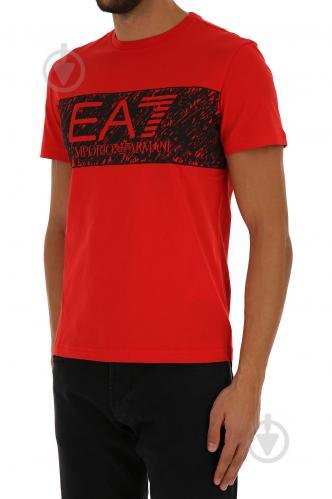 Футболка EA7 6YPT82-PJ02Z-1451 6YPT82-PJ02Z-1451 M красный - фото 2