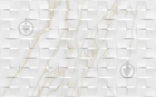 Плитка Golden Tile Alessandro бежевый рельеф 851061 25x40 - фото 1