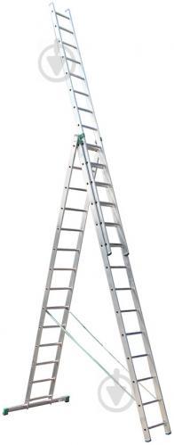 Лестница 3-секционная универсальная Itoss 7614 3x14 (15098)