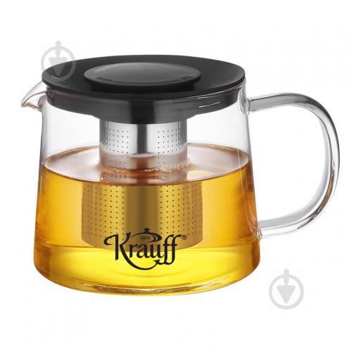 Чайник заварочный стеклянный квадратный с фильтром 750 мл - купить ...   499x499