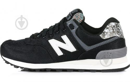 Кроссовки New Balance 574 WL574ASB р. 8 черный