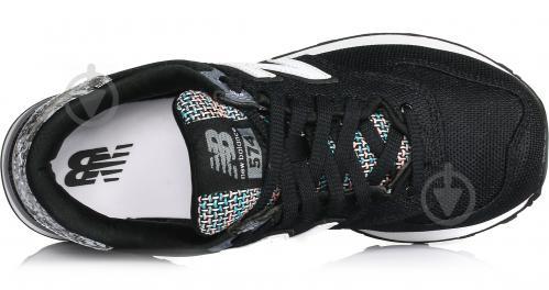 Кроссовки New Balance 574 WL574ASB р. 8 черный - фото 4