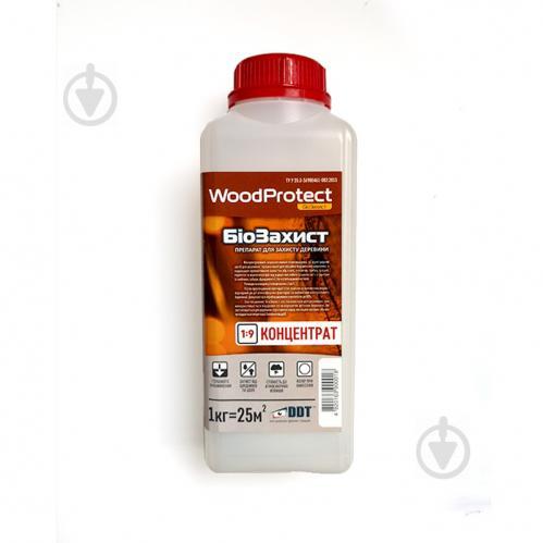 Биозащита DDT WoodProtect концентрат 1:9 бесцветный не создает пленку 1 л - фото 1