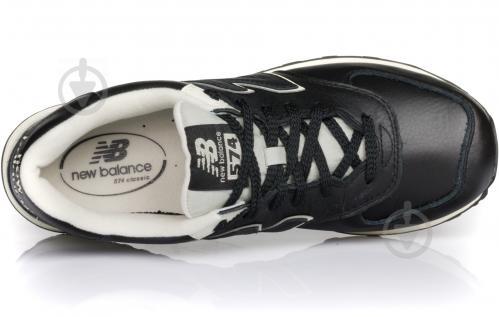 Кроссовки New Balance 574 ML574LUC р.8,5 черный - фото 4