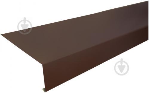 Капельник глянцевый PSM RAL 8017 коричневый 2м