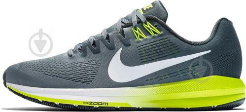 release date 83d9c 766a6 Кросівки Nike AIR ZOOM STRUCTURE 21 904700-007 р.10 темно-сірий