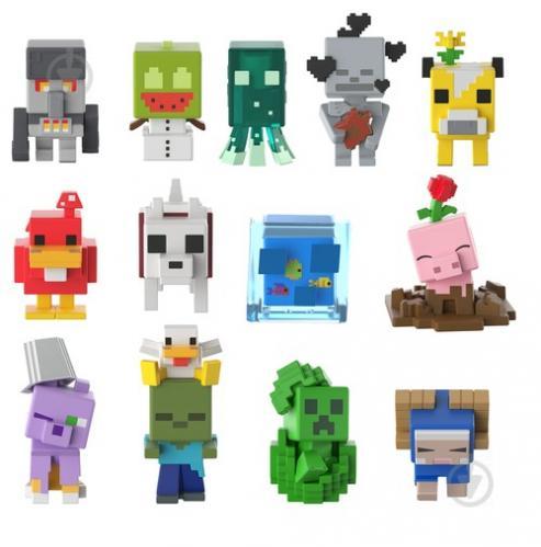 Мини-фигурка Minecraft Minecraft тематическая в ассортименте FXT80 - фото 1