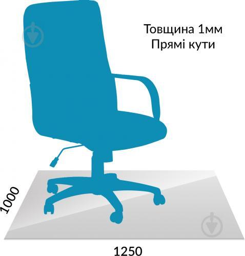 Захисний килим полікарбонатний 1,0 мм 1,0 м x 1,25 м - фото 1