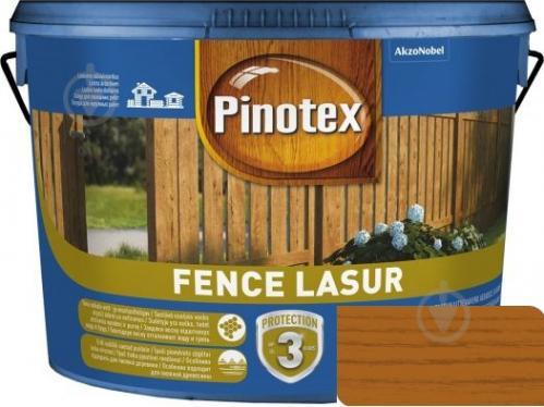 Деревозащитное средство Pinotex fence lazur орегон мат 10 л - фото 1