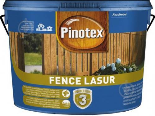 Деревозащитное средство Pinotex fence lazur полисандр мат 10 л - фото 2