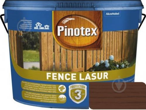 Деревозащитное средство Pinotex fence lazur тик мат 10 л - фото 1