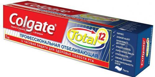 ᐉ Зубна паста Colgate Total 12 Професійна відбілювальна 75 мл ... cd2baf8abf5d6