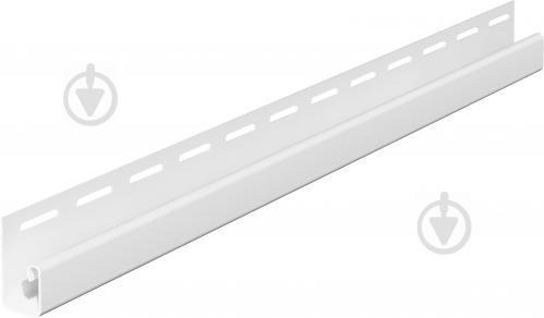 Профиль J-образный VOX 3,05 м белый SV-15