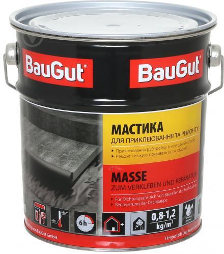 Мастика бітумна BauGut для приклеювання та ремонту 3,5 кг