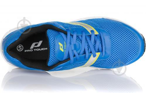 Кроссовки Pro Touch Amsterdam 239584-905542 р. 10 голубой с зеленым - фото 4