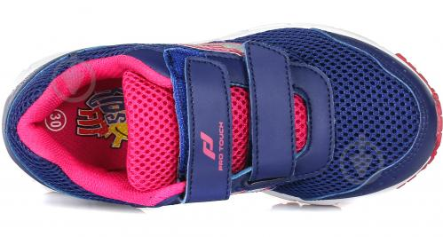 Кроссовки Pro Touch Amsterdam IV 239624-911506 р. 12.5 синий с розовым - фото 4
