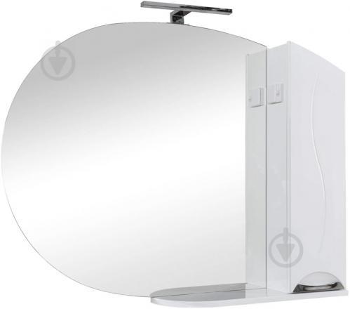 Зеркало со шкафчиком Aqua Rodos Глория 105 R - фото 1