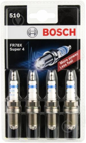 Свічка запалювання Bosch SUPER 4 FR78Х - фото 3