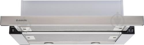 Вытяжка Minola HTL 6112 Full Inox 650 LED - фото 1