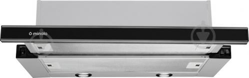 Вытяжка Minola HTL 6172 I/BL Glass 650 LED - фото 1
