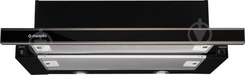 Вытяжка Minola HTL 6162 I/BL Glass 650 LED - фото 1