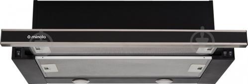 Вытяжка Minola HTL 6062 I/BL Glass 450 LED - фото 1