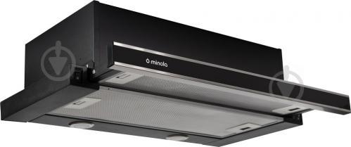Вытяжка Minola HTL 6062 I/BL Glass 450 LED - фото 2