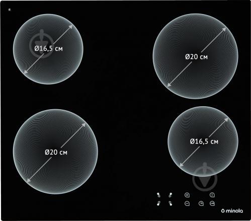 Варильна поверхня Minola MVH 6033 GBL - фото 2