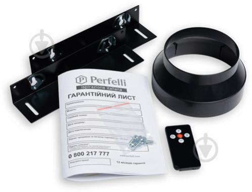 Витяжка Perfelli BISP 9973 A 1250 BL LED Strip - фото 9