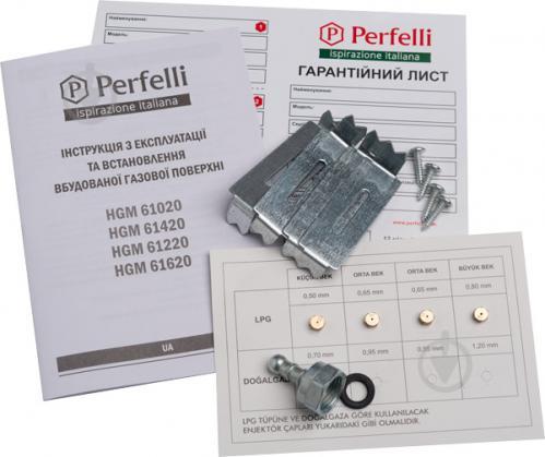 Варильна поверхня Perfelli HGM 61420 BL - фото 7