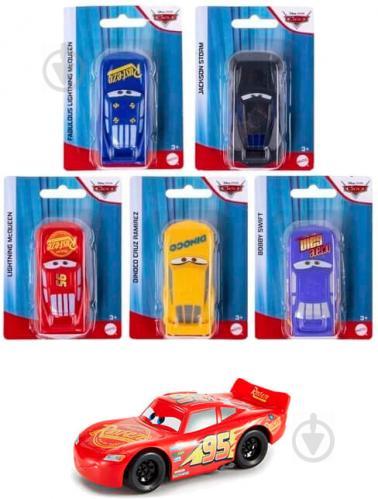 Машинка Mattel герой с м/ф Тачки в ассортименте 1:55 GNW87 - фото 1