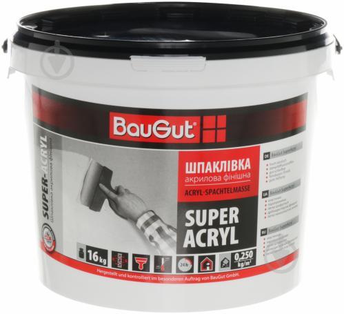 Шпаклевка BauGut Super Finish 16 кг